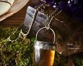 Inner Peace- Honey Calcite Necklace