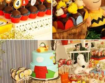 Snoopy Birthday | Snoopy Party | Snoopy Party Printable | Snoopy Decorations | Snoopy Printable