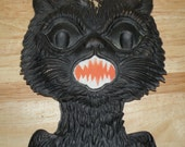 Antique German Large BLACK CAT