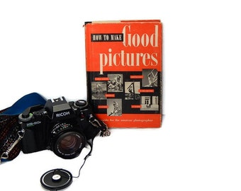 Vintage Photography Book by Eastman Kodak Vintage 1951 How to Make Good Pictures Book Illustrated Guide for Amateur Photographers