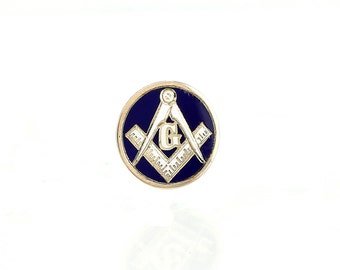 Antique Masonic Pin 10K Gold -1895