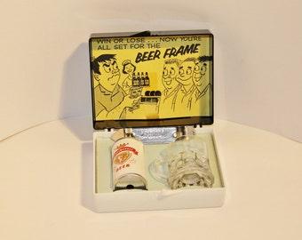 Vintage Champion Beer Frame Bowler Gift