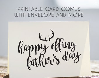 printable fathers day card, digital fathers day card, printable card for dad, funny fathers day card, fathers day card