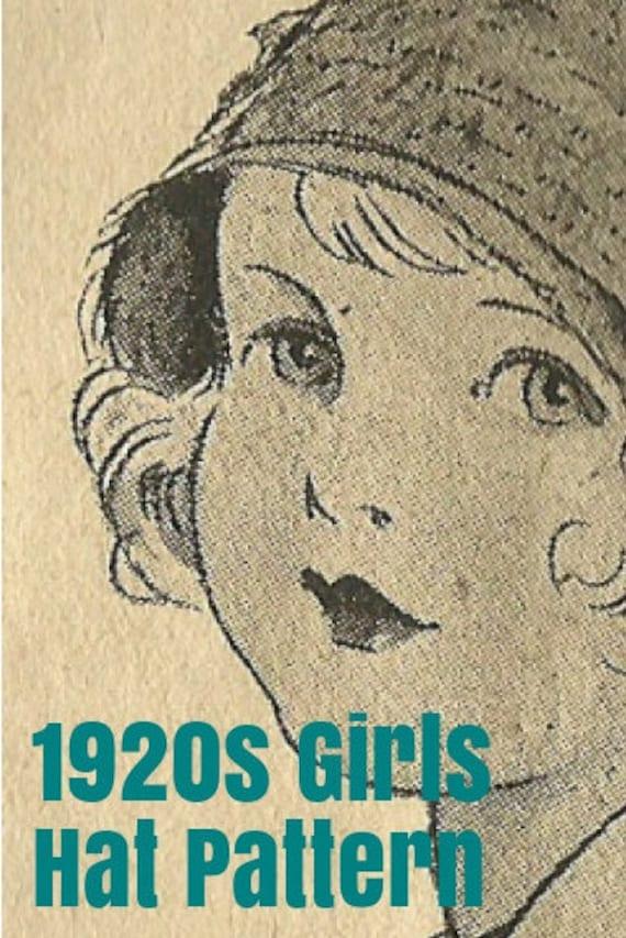 1920s Little Girl Hat Pattern - Crochet