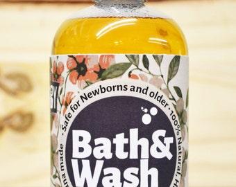 Newborn chamomile vegan Liquid soap