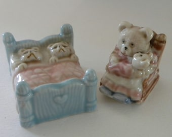 Golden Rose Giftware Teddy Bears in Bed Ornament - Bedtime Bears