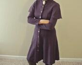 Vintage 60s M Steam-punk Style Vintage Coat