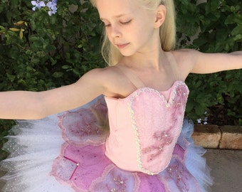 Child's Professional tutu and bodice with plate