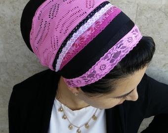tichel, apron, head covering, headscarf, aprons, oshrat, headband, headcovering, hair snood, mitpachat