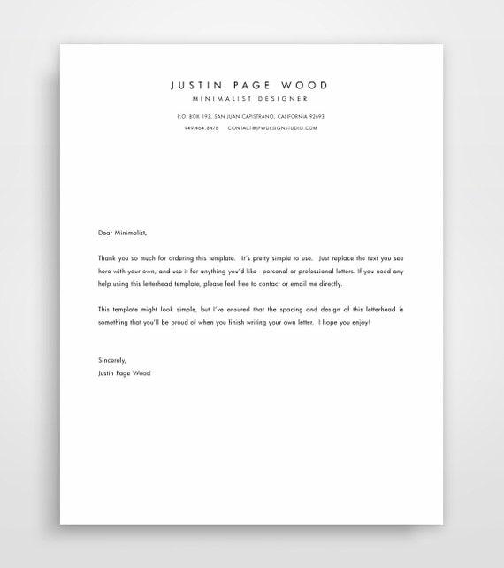 printable stationary business letterhead stationary