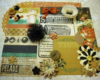 Kaisercraft Miss Empire Inspiration Kit, Embellishment Kit, Life Project Kit for Scrapbook Layouts Cards Mini Albums and Paper crafts 1