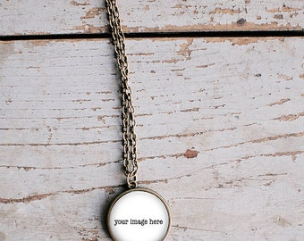 Pendant Product Mockup, Antique Bronze, Jewelry, template,jewelry photography,charm mockup,necklace mockup