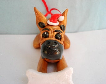 Great Dane Christmas Decorations Dog Christmas Ornament Pet Lovers Personalized Gift Great Dane Dogs