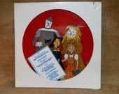 CRAZY CUPID SALE SEALed...The Wizard of Oz/Pinocchio...Musical Score - Vintage Vinyl Record Album...Picture Disc