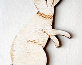 Arctic Hare Rabbit Holiday Ornament