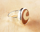 Womens wood ring, Wooden rings, wood rings for women, wood ring adjustable, Wood inlay ring, Wood accessories, Fashion accessories
