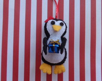 Mrs. Penguin Ornament by Pepperland
