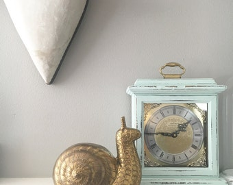 VINTAGE Large Brass Snail - Brass Collectible