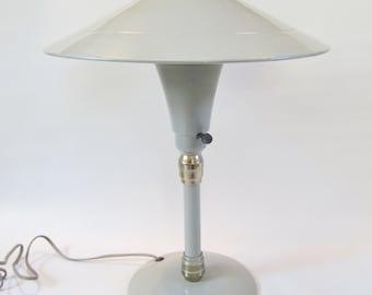 Vintage Desk Lamp Metal ART DECO Style