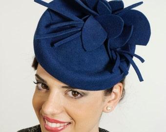 SALE 50 % hostess hat- royal blu