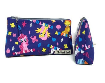 Small Purple My Little Pony Zipper Storage Pouch S158