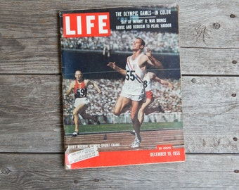 December 10th, 1956 Olympic Issue of Life Magazine