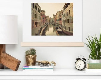Art Print ~ Summer in Venice photograph, unique Italy decorative art, dreamy newlywed wedding gift, house warming gift for her, dorm decor