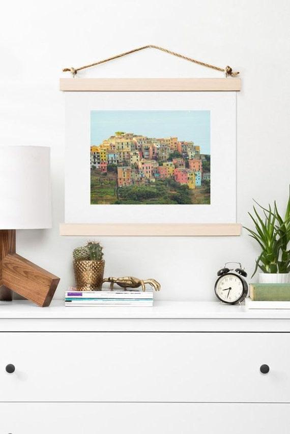 Art Print ~ Corniglia Summer Italy Photo, travel wanderlust dorm decoration, coastal seaside theme decor, Italy wall art, ocean home decor