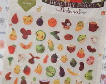 Healthy Food Planner Deco Sticker (1 sheet)