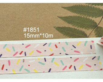 Colorful jelly beans Washi Tape (10M)