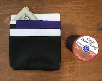 Minimalist Vegan Cash and Card Wallet