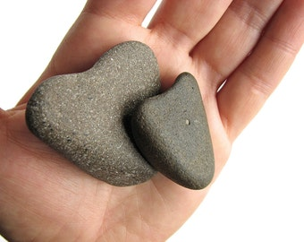Heart Shaped Stones - Natural River Rocks - Valentines Day Gift