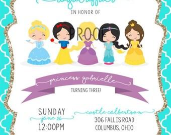 Princess Invitations