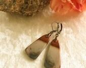 Rustic Jasper Earrings , casual succor creek jasper jewelry