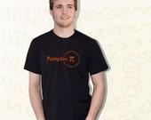Pumpkin Pi T-Shirt - Black