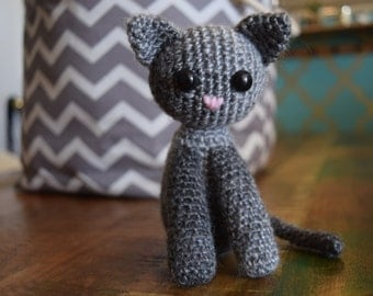 PATTERN: Kitty Cat Crochet Amigurumi