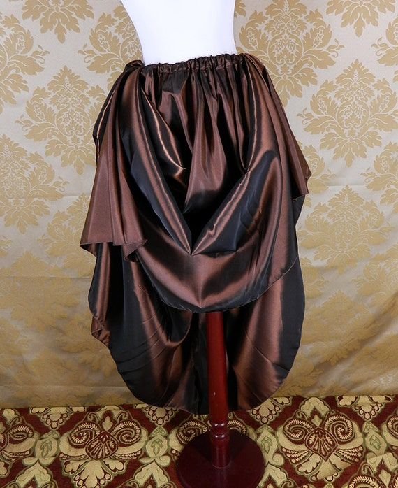 Basic Taffeta Skirt -- Custom Made in Your Size and Color Choice