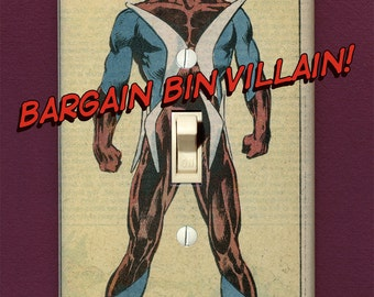 Boomerang - Super Villain Light Switch Plate
