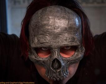 Skull mask Masquerade,  horror, halloween, Diesel punk, steampunk Latex halloween costume ON Sale Now  25% off!!
