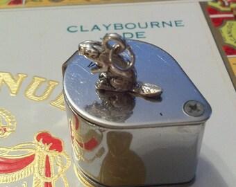 Beaver Silver Charm or Pendant