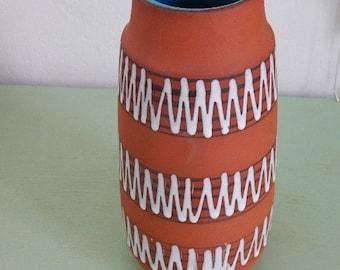 Scheurich Vintage Vase - No. 203-26 - West German Ceramic - Mid Century