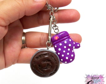 Love of Baking Keychain