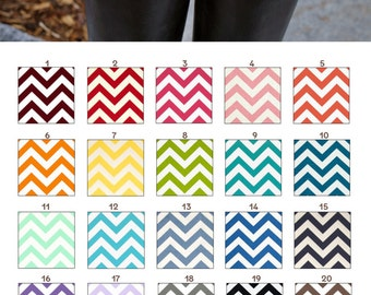 MADE TO ORDER - Zig Zag English Boot Trees Many Colors