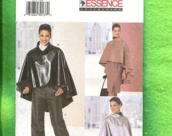 Butterick 6211 Modern High Fashio Forward Poncho Skirt & Pants Sizes 20  22  24 UNCUT