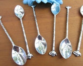 Darling Set of Teapot Tea Spoons. Collector Tea Spoon/Tea Lovers Gift/ Collectible Teaspoon/ Tea Party Spoon