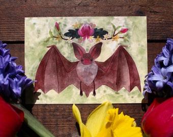 Spring Bat Print