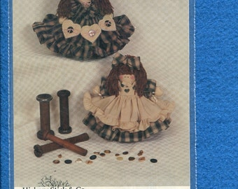 Hickory Stick H-202 Small Rag Doll Air Freshener Covers Size 9.5 inch doll UNCUT