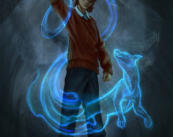 Ron and His Patronus