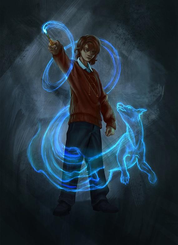 Los Patronus de Todos los Personajes del Universo de Harry ...  |Ron Weasley Patronus