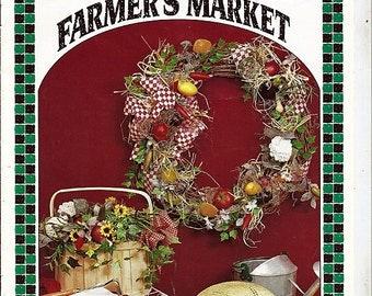 Farmers market Fruit & Veggie Craft Pattern Book BKW287